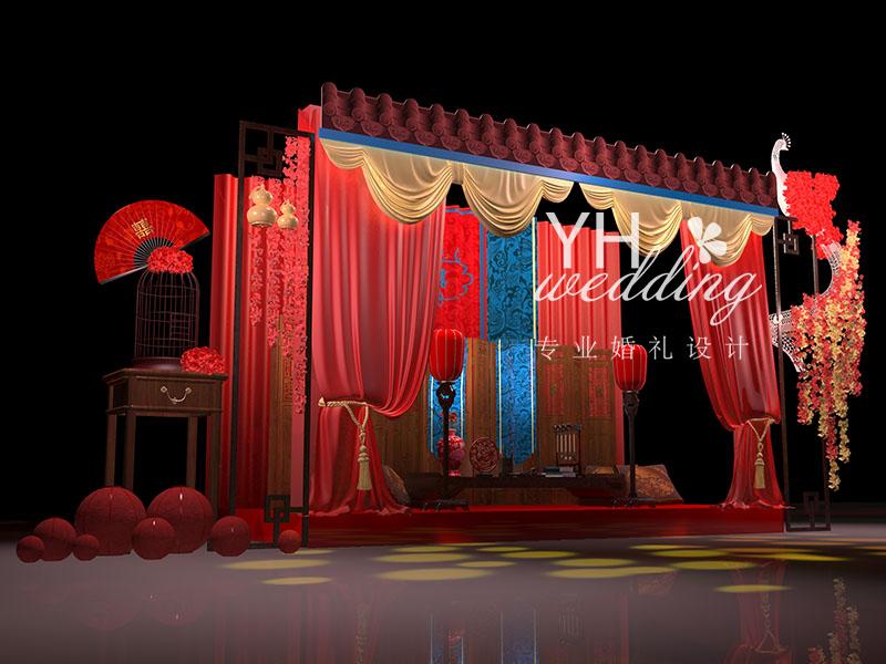中式汉代婚礼